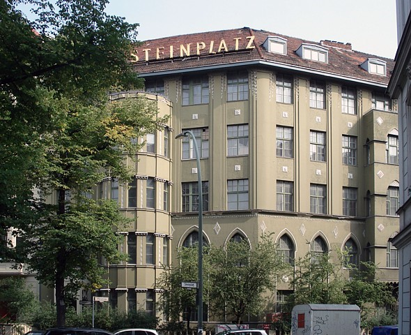 August Endell - Haus am Steinplatz