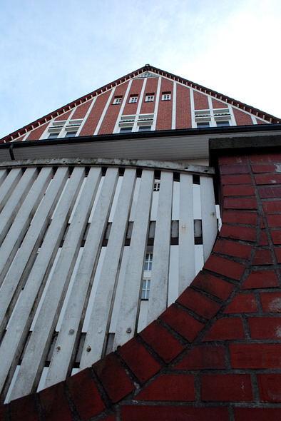 Giebefassade des Hauses Kühl, Westend