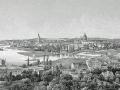 Blick vom Brauhausberg 1850 Franz-Xaver Sandmann