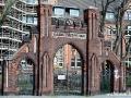 Bürgerhaus Charlottenburg: Eingangsportal an der Mollwitzstraße