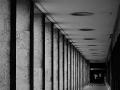 Einsame Arkaden Zentralflughafen Tempelhof