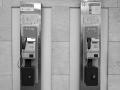 Fernsprecher in der Haupthalle Zentralflughafen Tempelhof
