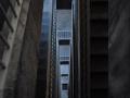 Nackter Beton: Treppenhaus Zentralflughafen Tempelhof