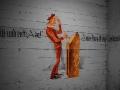 Wandmalereien im Luftschutzkeller Zentralflughafen Tempelhof