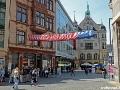 Fußgänger-Zone in Halle