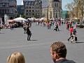 Der Marktplatz in Halle (Saale)