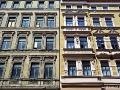 Fassaden in Halle (Saale): Vorher-Nachher-Vergleich