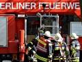 Feuerwehreinsatz am Haus Cumberland