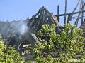Schwere Zerstörungen am Haus Cumberland