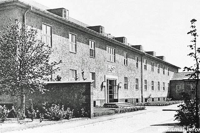 Unterkunfts- und Lehrsaalgebäude der Luftkriegsschule Werder