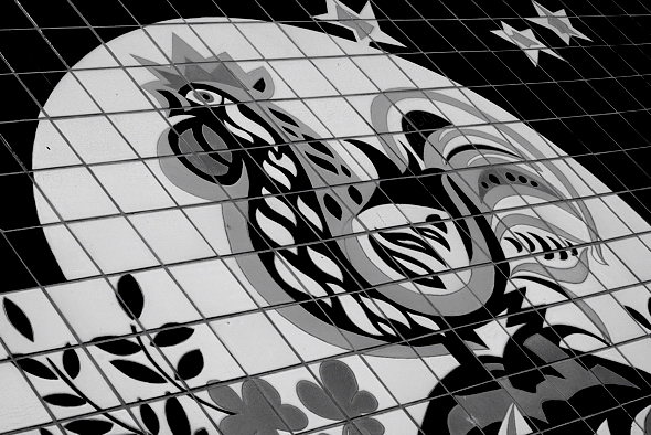 Keramikbild Walter Womacka 1