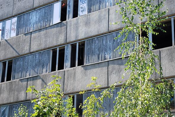 Ehemaliges DDR-Gästehaus - Gartenfassade