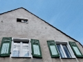 Preussensiedlung - Giebelfassade eines Bel & Clement-Hauses