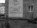 Erinnerungstafel Bismarck-Säle in Spandau 1957