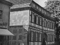 Fachwerkhaus in der Jüdenstraße in Spandau 1957
