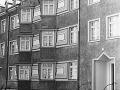 Fassaden in der Zeppelinstraße in Spandau 1957