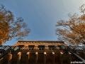 US-Headquarter Dahlem: Fassade Haus 1 im Herbstlicht