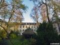 US-Headquarter Dahlem: Innenhof von Haus 1 im Herbst 2011