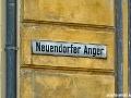 Straßenschild am Neuendorfer Anger
