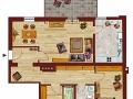 Grundriss Suite 6