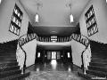 US-Headquarter Dahlem - Treppenaufgang in Haus 1