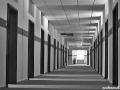 US-Headquarter Dahlem - Korridor im 1. OG von Haus 1