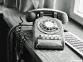 US-Headquarter Dahlem - Telefon im Gerichtsgebäude