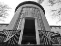 US-Hauptquartier Dahlem - Zugang ins Foyer vom Innenhof