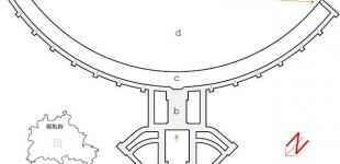 Grundriss Flughafen Tempelhof. Zum Vergrößern bitte Klicken!