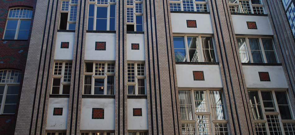 Fassade im 1. Hof der Hackeschen Höfen