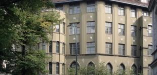 August Endells Haus am Steinplatz, Aufnahme aus dem Frühjahr 2007