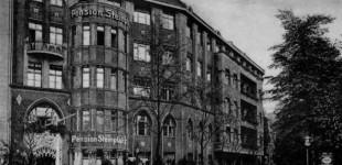 """Die """"Pension am Steinplatz"""" - Aufnahme aus den späten 1920ern."""