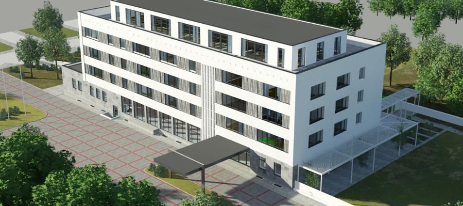 So soll es nach der Sanierung aussehen: das ehemalige Gästehaus der DDR im Schlosspark Schönhausen. Foto: Terraplan