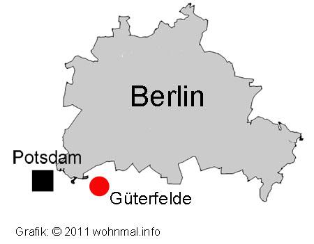 Grafik Lage Güterfelde