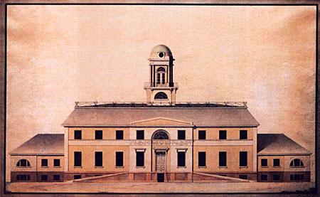 Schloss-Gueterfelde-Entwurf-David-Gilly-1804