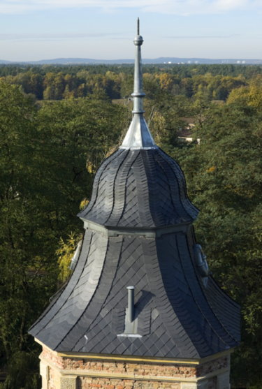 Schloss Güterfelde Ausblick vom Turm