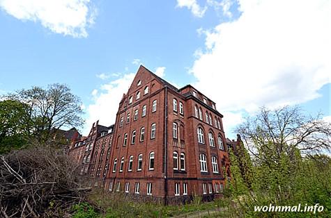 Bürgerhaus Charlottenburg: Blick von Osten