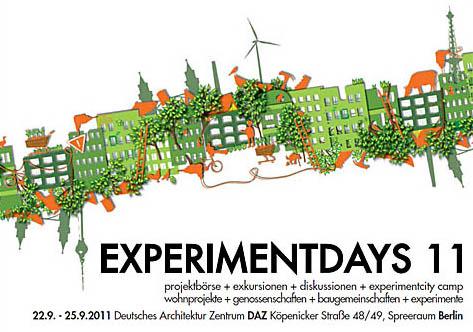 Experimentdays 11-Plakat