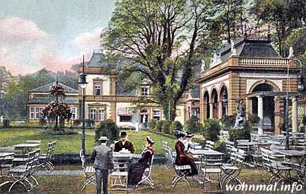 Sommerfrische: Das Restaurant im Bürgerpark war eines der Anfang des 20. Jahrhunderts für Pankow so typischen Ausflugslokale. Bild: Archiv Sven Hoch