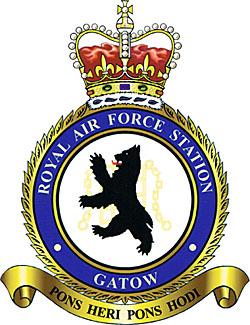 Wappen der RAF Station Gatow. Quelle: Wikipedia