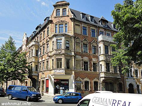 """Unentdeckte Schönheit:  die """"Villa Löwengold"""" im heutigen, unsanierten Zustand."""