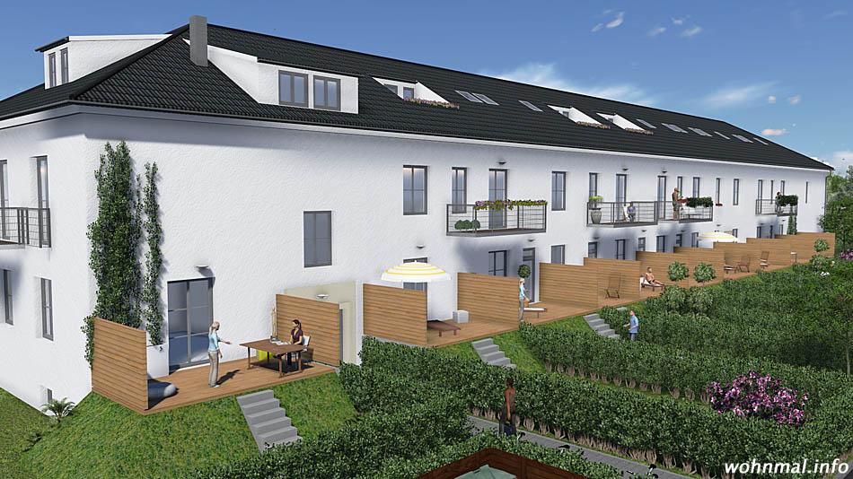 Naturnahes Wohnen in historischen Gemäuern: Eigentumswohnungen in Fliegerheimen in Werder. Foto: PRV