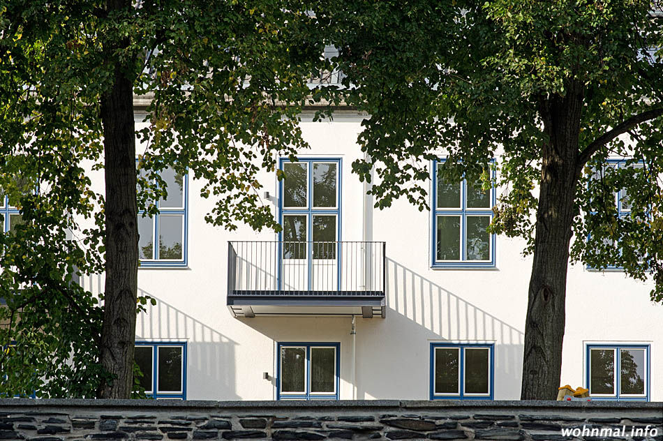 The Metropolitan Gardens Dahle: Südflügel von The Square an de Saargemünder Straße