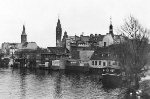 Altstadt Köpenick von der Langen Brücke aus, ca. 1910