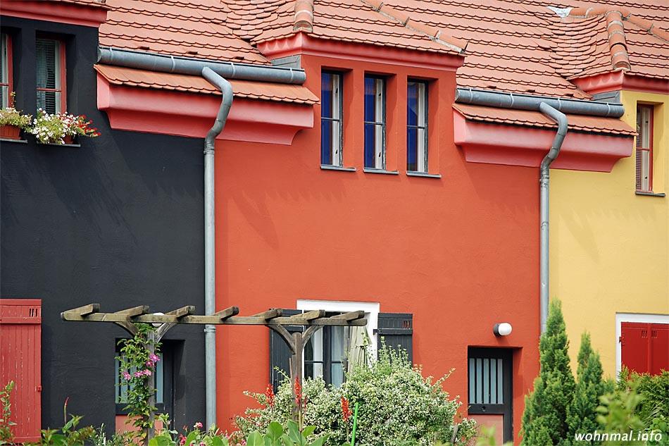 Tuschkastensiedlung: die Berliner Schnauze fand den passenden Spitznamen für die die von Bruno Taut geschaffene Gartenstadt Falkenberg (Bezirk Treptow-Köpenick).