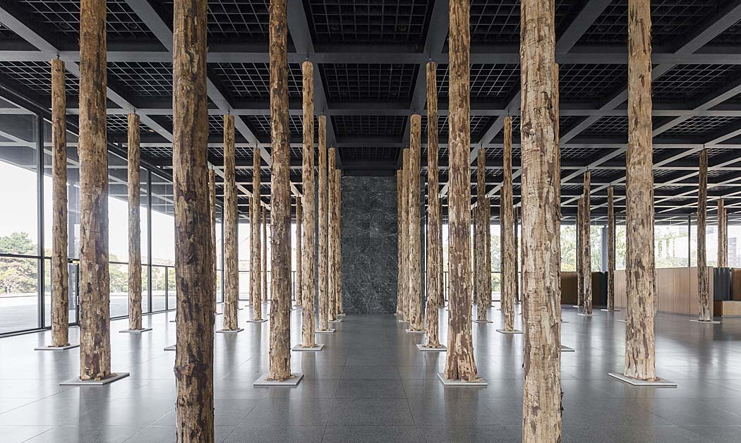 David Chipperfield: Sticks and Stones, eine Intervention. Installationsansicht. Foto: David von Becker David Chipperfield: