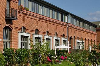 Saniertes Stallgeviert der Roten Kaserne in Potsdam, 2014