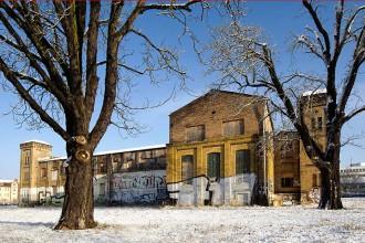 Die einstige Jutespinnerei in Potsdam